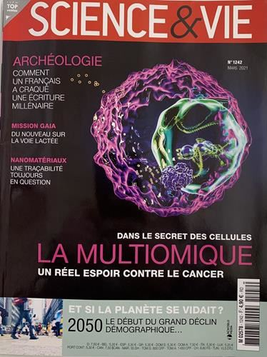 Science & Vie N° 1242 Mars 2021